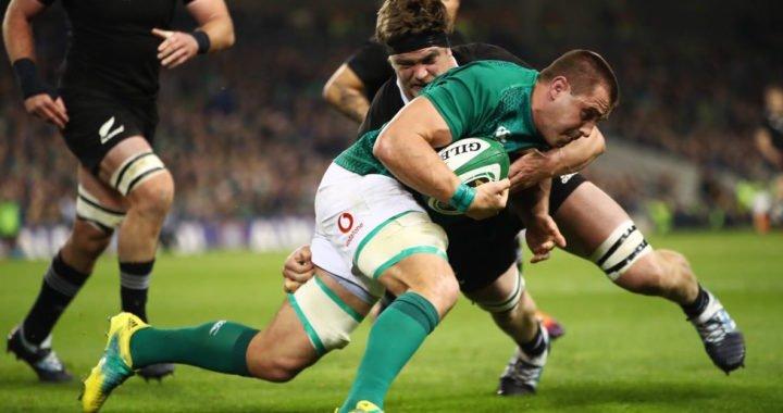 Irlanda consiguió histórica victoria sobre los All Blacks en Dublín