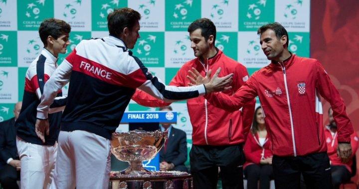 Francia reacciona ante Croacia y descuenta en la final de la Copa Davis