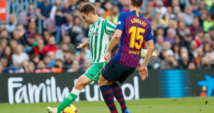 El Betis aguó la fiesta del regreso de Messi