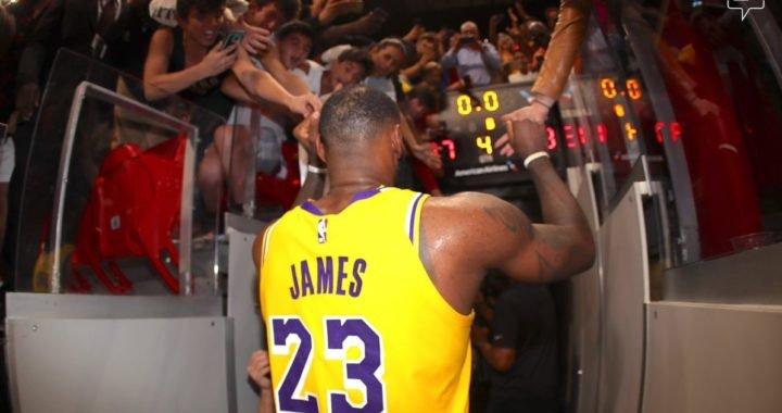 Lo mejor del show de LeBron James contra Miami