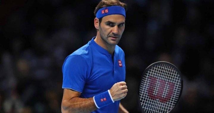 Roger Federer avanzó como líder a las semifinales del Masters de Londres