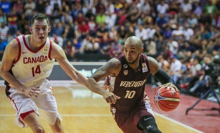 José Vargas fue clave en la victoria de Venezuela ante Canadá (FIBA)