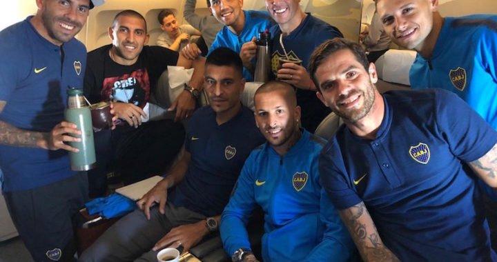 Boca Juniors ya está en Madrid para disputar la final de la Copa Libertadores
