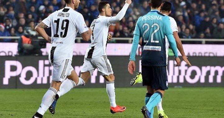 Cristiano Ronaldo emergió del banco para evitar una caída de la Juventus