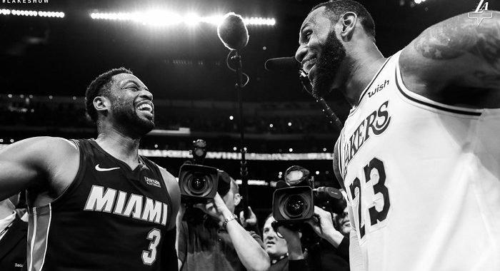 Así fue la noche del último duelo entre LeBron James y Dwyane Wade