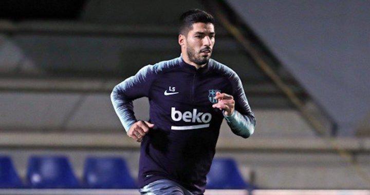 Barcelona recuperó a Luis Suárez para el derbi catalán