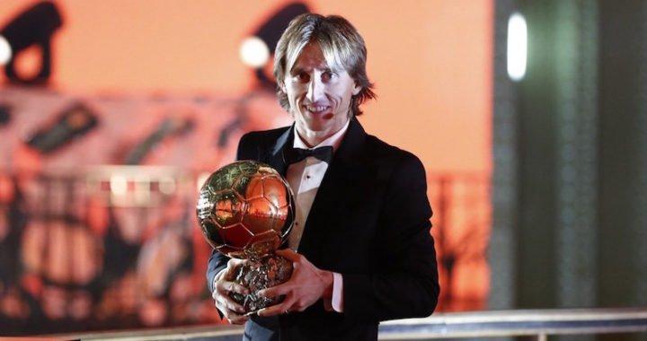 Luka Modric conquistó el Balón de Oro 2018