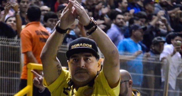 Maradona perdió el control tras la derrota en la final del Ascenso mexicano