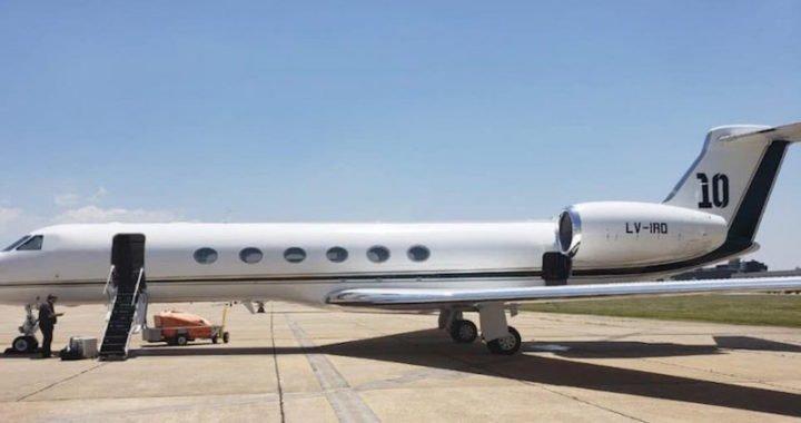 Lionel Messi se compró un avión por unos 15 millones de dólares