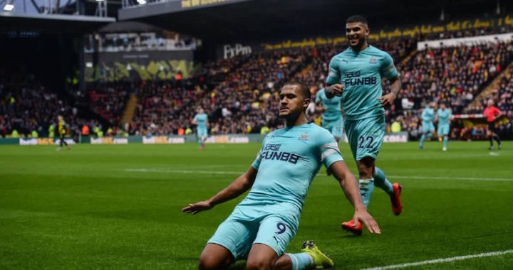 Salomón Rondón finalizó el 2018 con un gol en empate del Newcastle