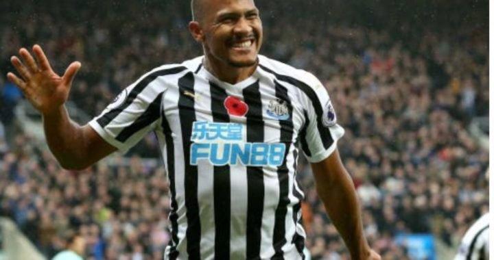 Salomón Rondón fue el mejor jugador del mes en el Newcastle