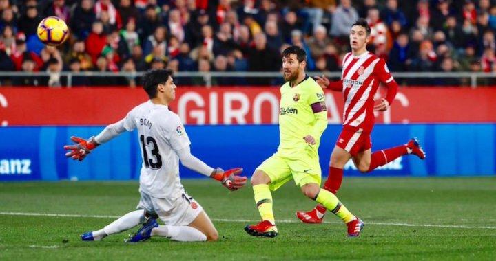Barcelona domina sin problemas al Girona y se afianza como líder de La Liga