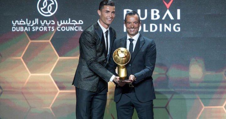Cristiano Ronaldo ganó premio al Mejor Jugador del 2018 de los Globe Soccer Awards