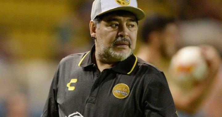 """Maradona: """"Hoy, más que nunca, con el presidente Maduro"""""""