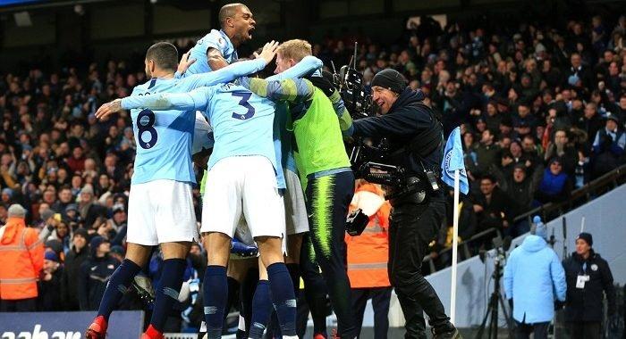 La importante victoria del Manchester City sobre el Liverpool en 3 minutos