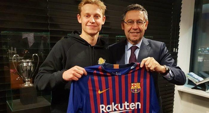 Frenkie de Jong, el vigésimo holandés en la historia del Barcelona y mucho más