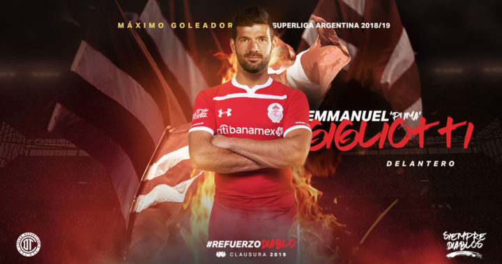 El Toluca de México le arrebató su goleador a Independiente