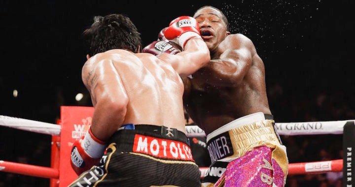 Pacquiao revalidó su título mundial welter de la AMB y le pide revancha a Mayweather