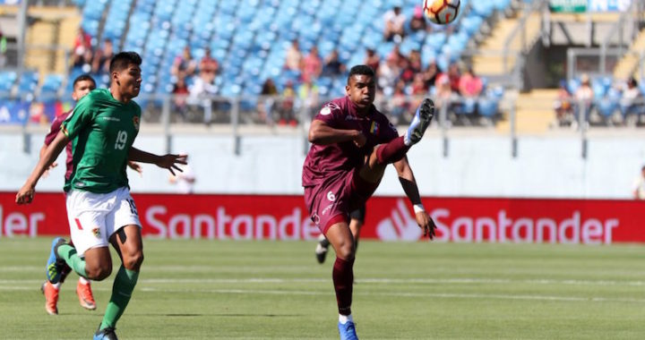 Venezuela venció a Bolivia y aseguró su boleto al hexagonal del Sudamericano sub-20