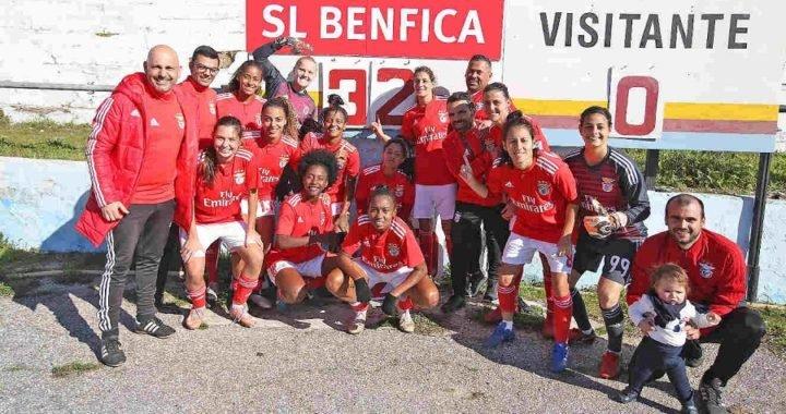 La escandalosa e histórica goleada 32-0 del Benfica femenino