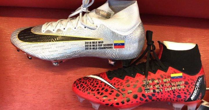 Josef Martínez estrenará botines especiales la próxima temporada de la MLS