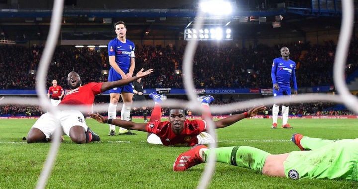 Manchester United dejó en el camino al Chelsea y se instala en cuartos de final de la FA Cup