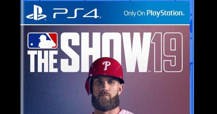 MLB The Show 2019 mostró su portada con Bryce Harper y el uniforme de los Filis