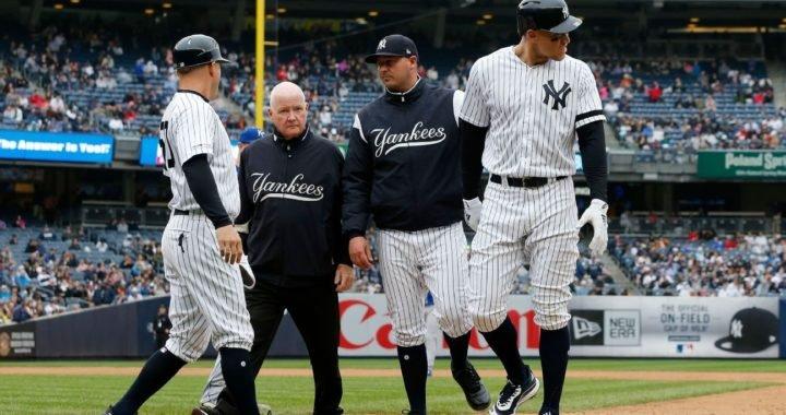 Conoce el hospital de los Yankees, con Judge ya son 13 en la lista de lesionados