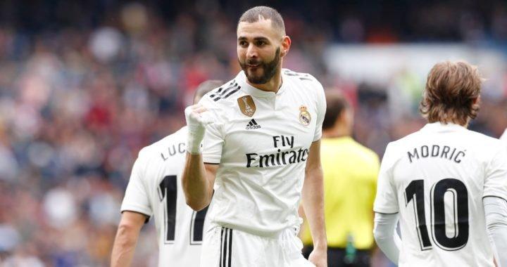 Karim Benzema estableció marca goleadora dentro del Real Madrid