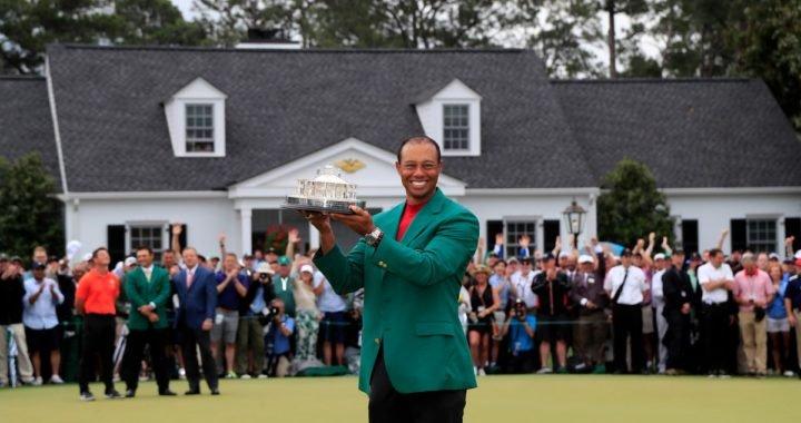 Tiger Woods se proclamó campeón del Masters de Augusta 2019