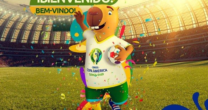La mascota de la Copa América Brasil 2019 ya tiene nombre: «Zizito»