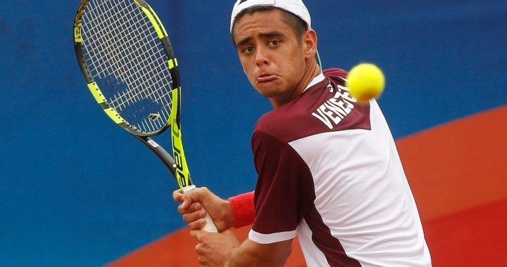 Entérate de los detalles de la preparación de Brandon Pérez, promesa del tenis venezolano