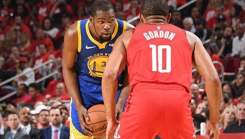 Beverley afirmó que Durant es el mejor de la NBA (Twitter Warriors)