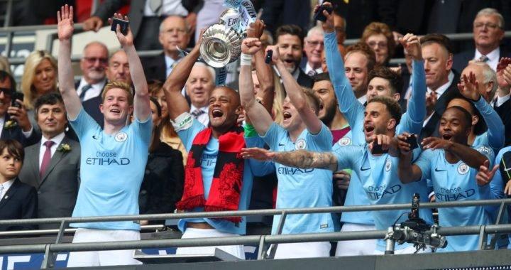 Manchester City gana la FA Cup y Guardiola hace historia en Inglaterra