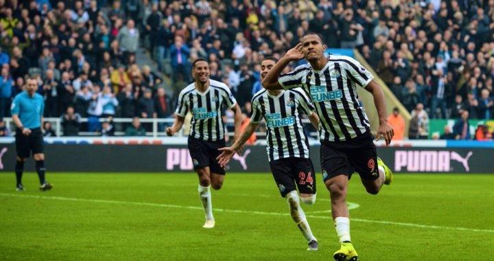 Salomón Rondón marcó su décimo gol de la temporada con el Newcastle
