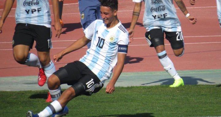De patear pelotas en una playa venezolana a ser capitán de la sub-16 de Argentina