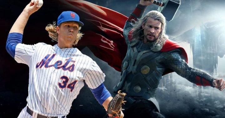 El «Thor» del Beisbol recibió un premio en la semana exitosa de Avengers
