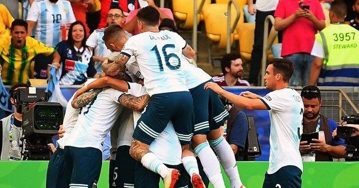 Argentina dejó a Venezuela fuera de la Copa América (Twitter Conmebol)