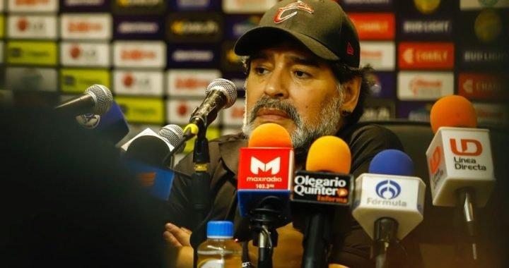 Maradona sale a defenderse de los rumores: «Yo no me estoy muriendo»