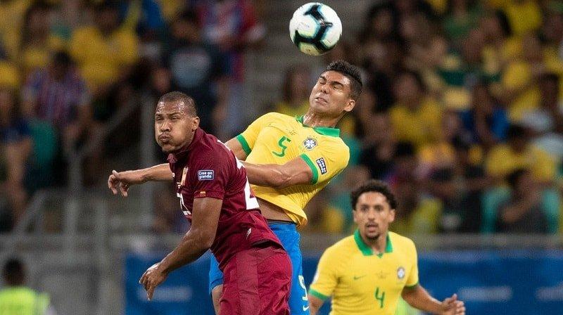 Venezuela sacó un punto importante ante Brasil (CBF Twitter))