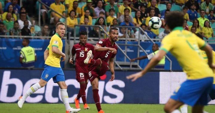Yordan Osorio se creció ante Brasil: Así fue la actuación de la Vinotinto
