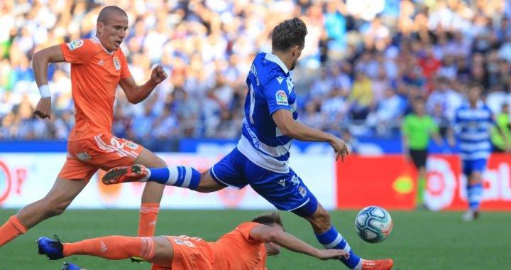 Así fue el golazo de Christian Santos que le dio el triunfo al Deportivo La Coruña