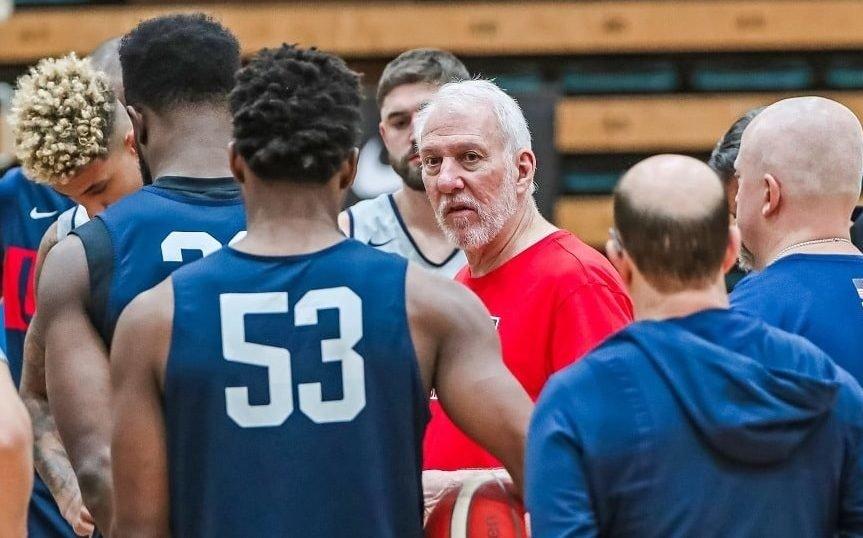 Gregg Popovich advierte del potencial de Australia (Twitter USA Basketball)