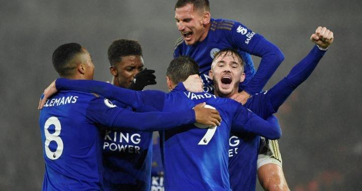 Leicester implantó un récord en la Premier League con su goleada 9-0