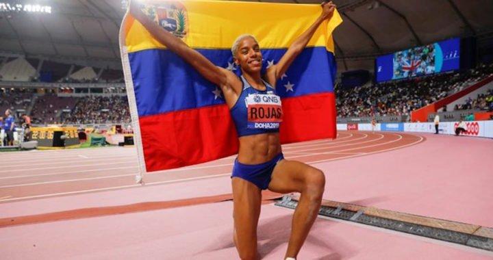 Yulimar Rojas logró 'back to back' en Mundial de Atletismo