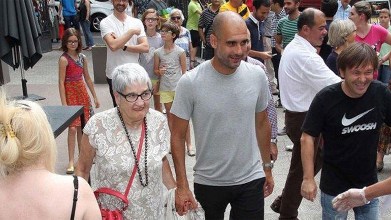 Mamá de Pep Guardiola
