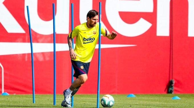 FC Barcelona está de vuelta a los entrenamientos