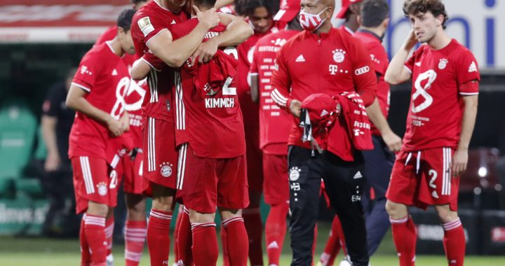 Bayern Múnich conquistó la Bundesliga por octava temporada en fila