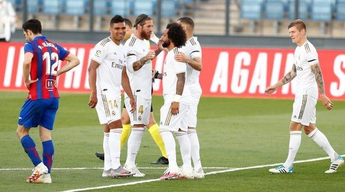 Real Madrid fue contundente en su regreso a La Liga