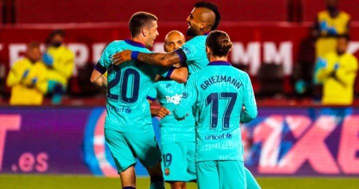 FC Barcelona celebró su regreso a la acción con victoria